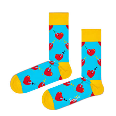 Happy Socks Broken Heart Sock