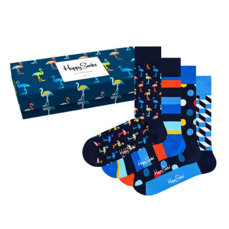 Happy Socks Navy Gift Box