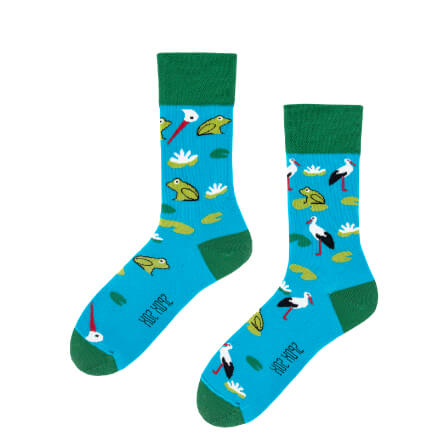 Spox Sox Storks and frogs